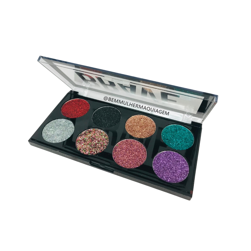 Paleta de Glitter Brave cor C - Pink 21 (CS2730C)