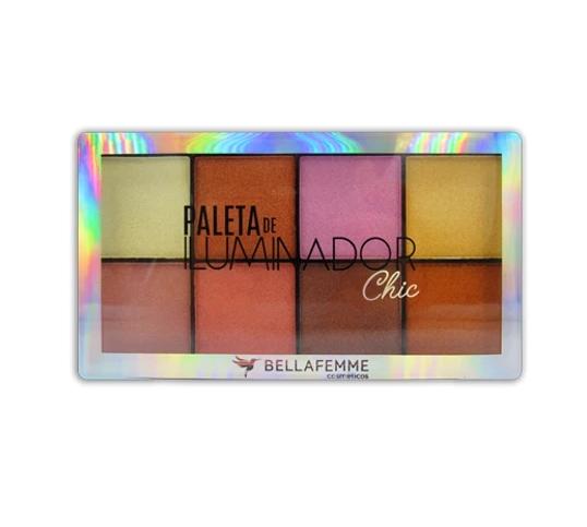 Paleta de Iluminador Chic - Bella Femme (BF10061)