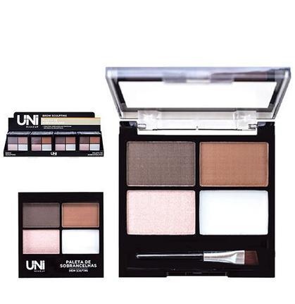 Paleta de Sobrancelhas Brow Sculpting - Uni Makeup(UNEB110D)