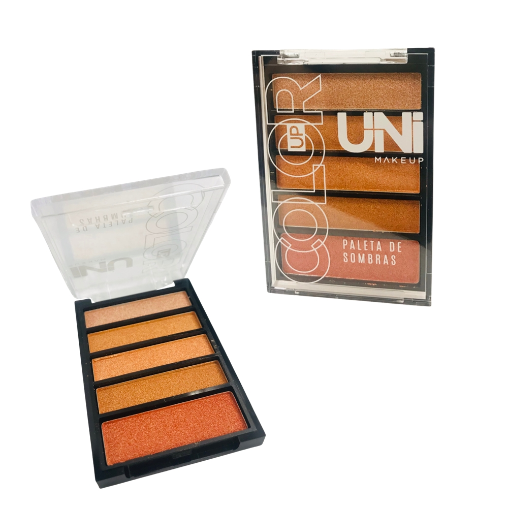 Paleta de Sombra Color Up - Uni Makeup  Cor C (UNSO239DSC)