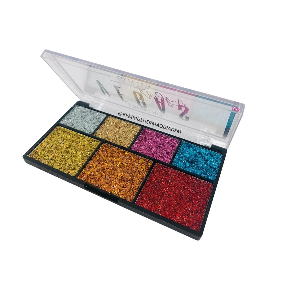 Paleta de Sombra Glitter Vegas Nigth Cor A - Pink 21 (CS2776A)