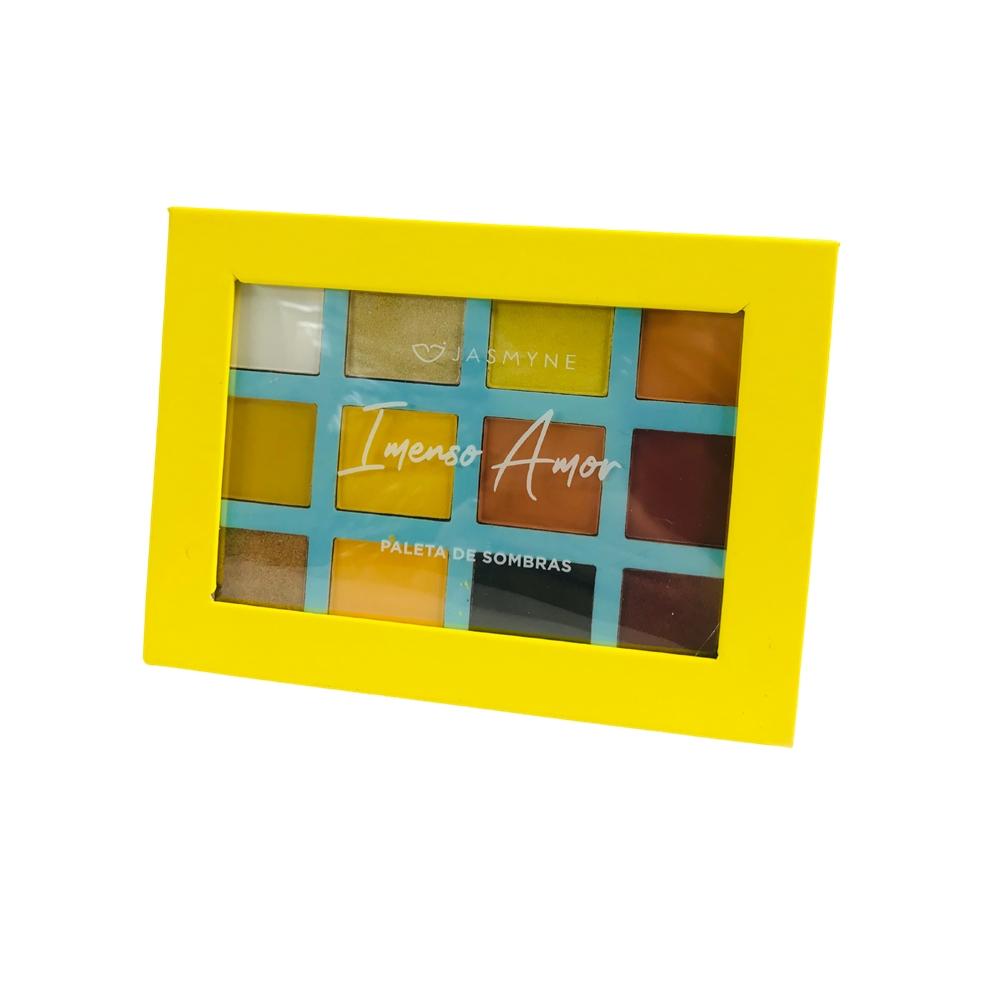 Paleta de Sombra Imenso Amor Yellow - Jasmyne  (JS0709)
