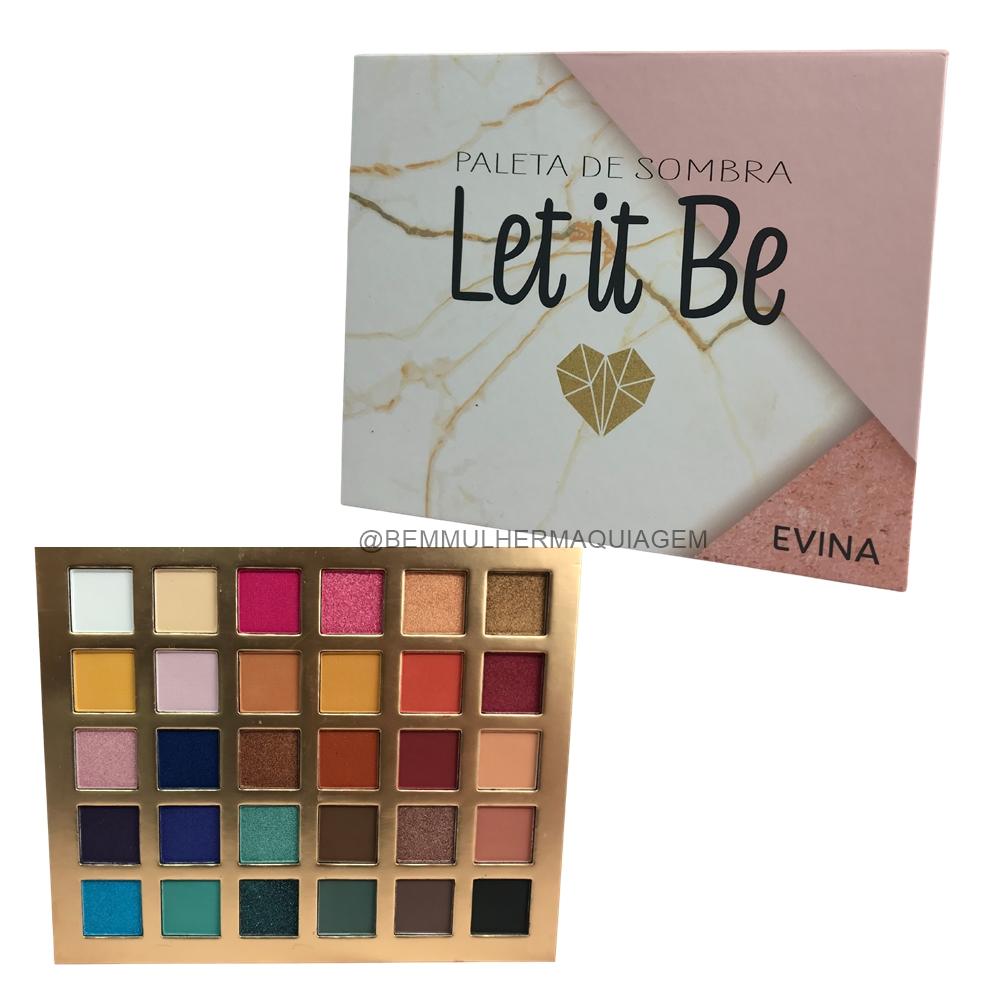 Paleta de Sombra Let It Be -  Evina (EVSO025)