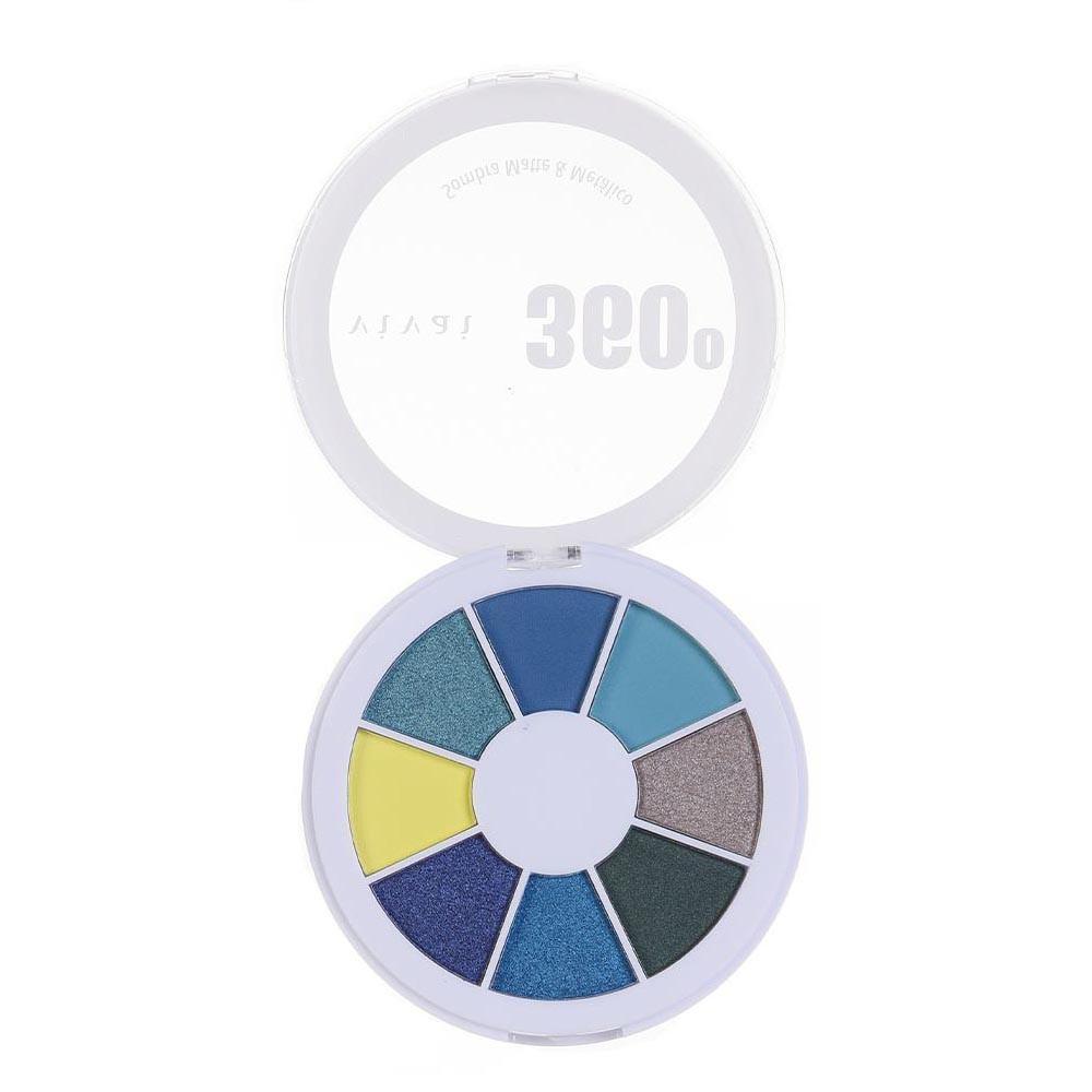 Paleta de Sombra Matte/Metálico 360 Cor 04 (4040.9.1) - Vivai