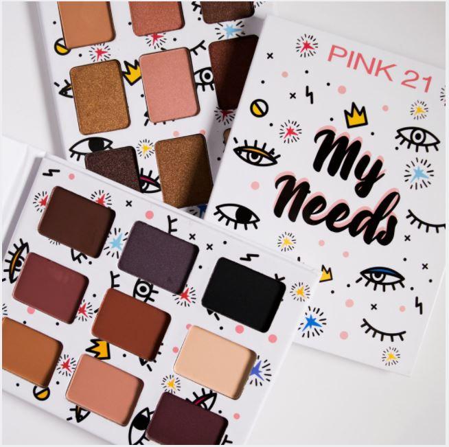 Paleta de Sombra My Needs - Pink 21 Cor 2 (CS2788)