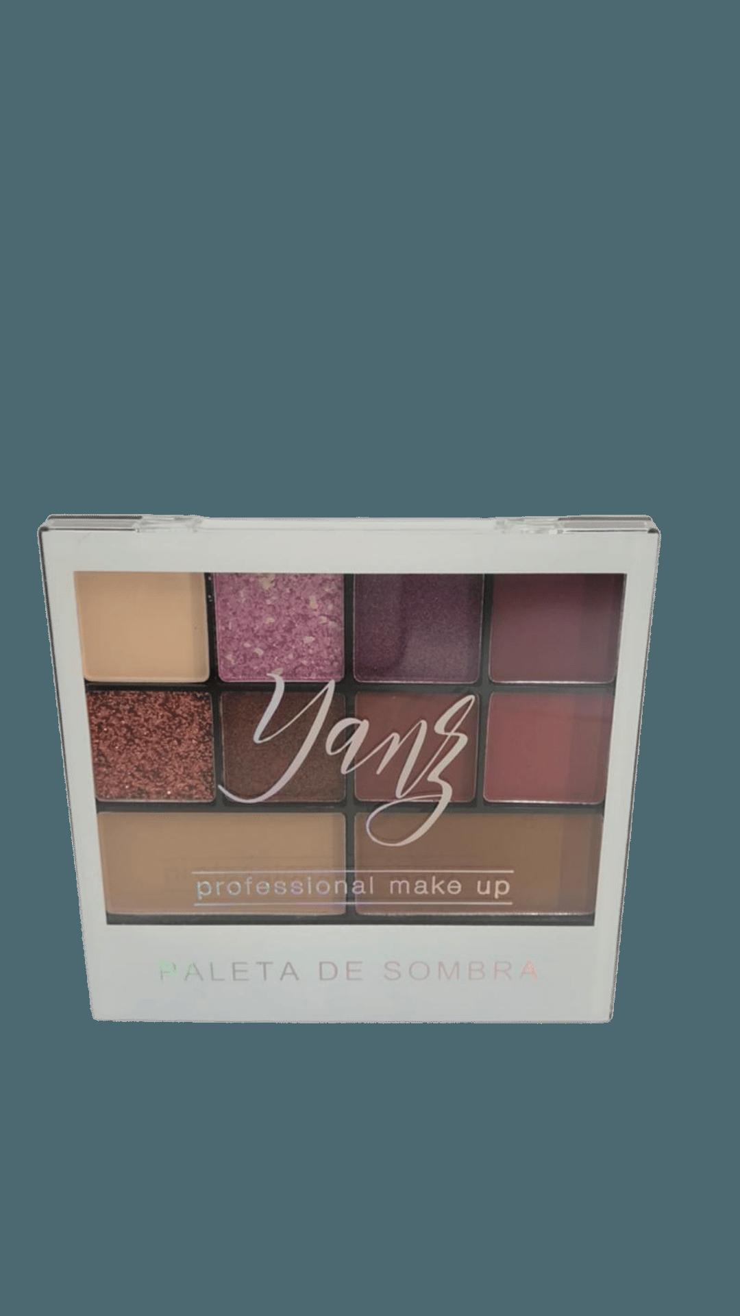 Paleta De Sombras 10 Cores - Yanz Cor 1 (Y6608)