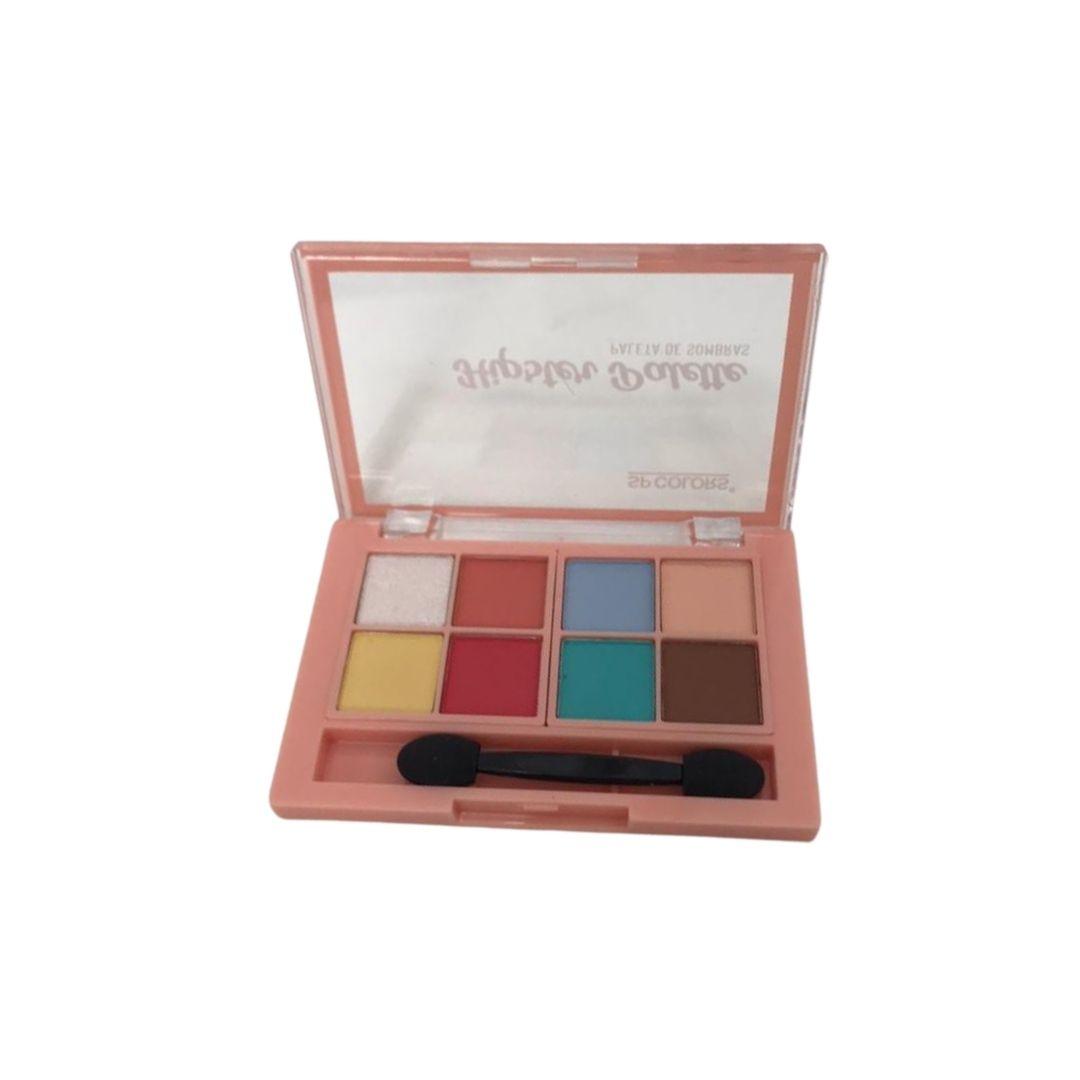 Paleta de Sombras 8 Cores SP Colors - SP228A