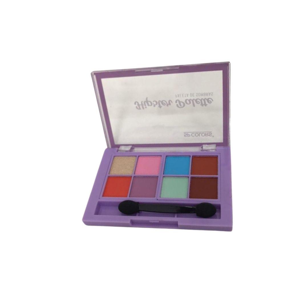 Paleta de Sombras 8 Cores SP Colors - SP228B