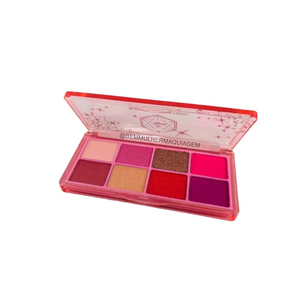 Paleta De Sombras 8 Cores Super Pigmento Cor 03 My Life (MY8269C)