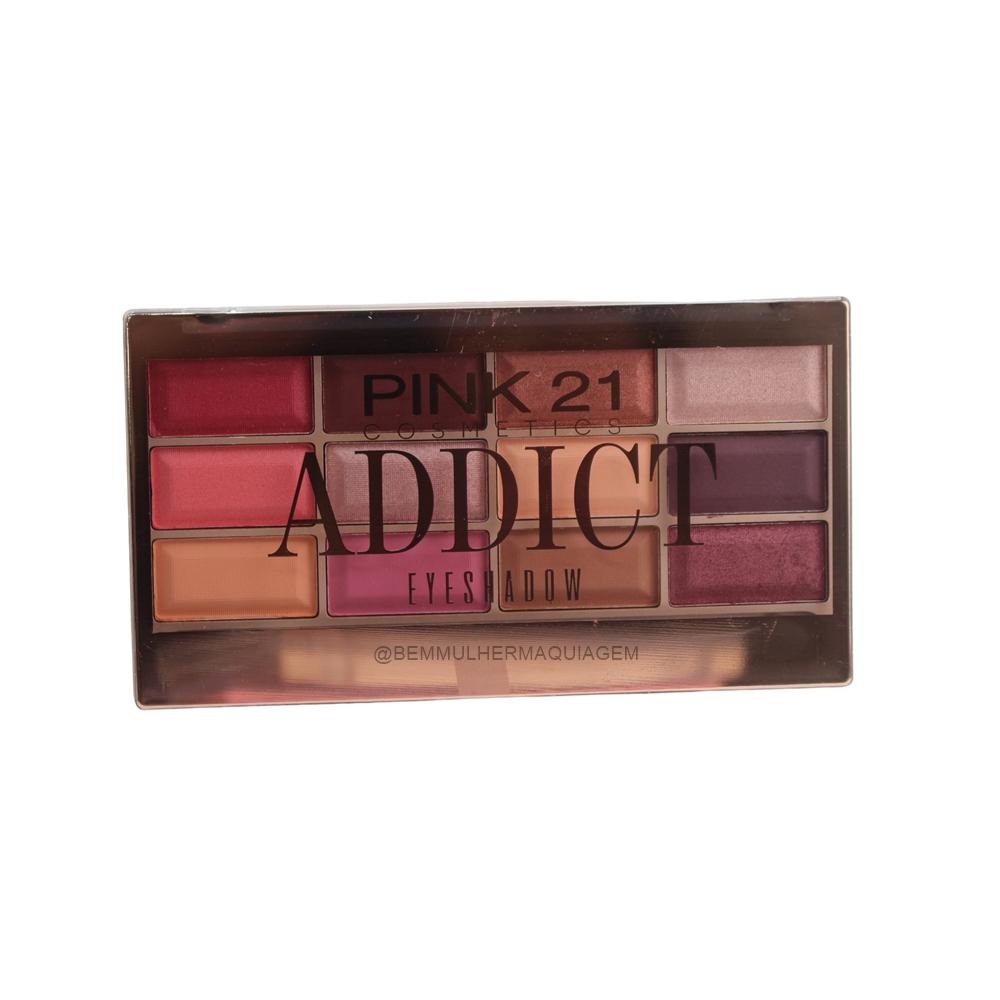 Paleta de Sombras Addict - Pink 21 Cor A (CS2764A)