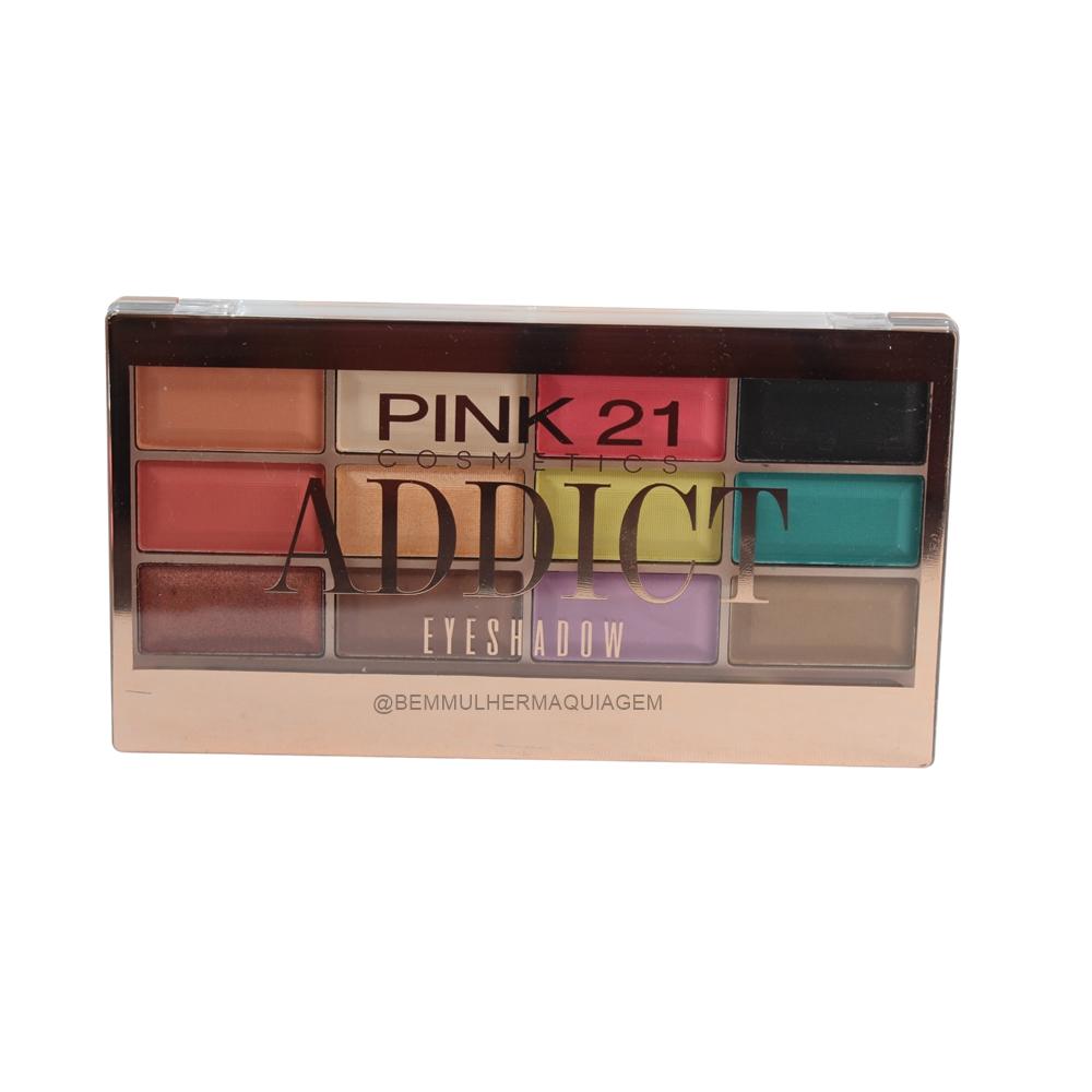 Paleta de Sombras Addict - Pink 21 Cor B (CS2764B)