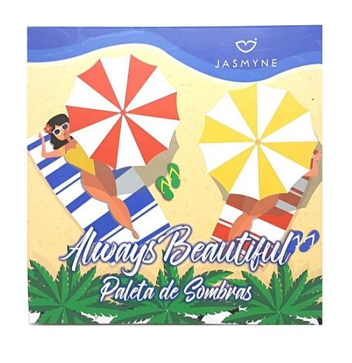 Paleta de Sombras Always Beautiful - Jasmyne (JS06062)