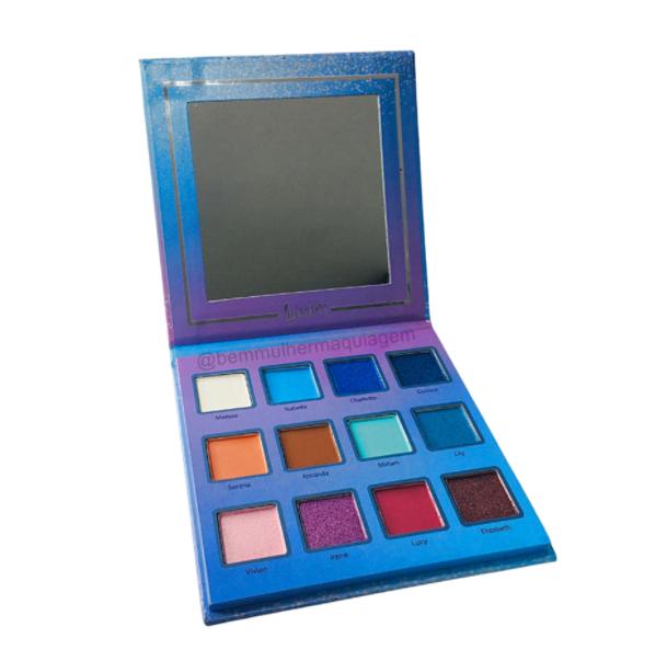 Paleta De Sombras Azul Brilliance Pallete (L1098D) - Luisance