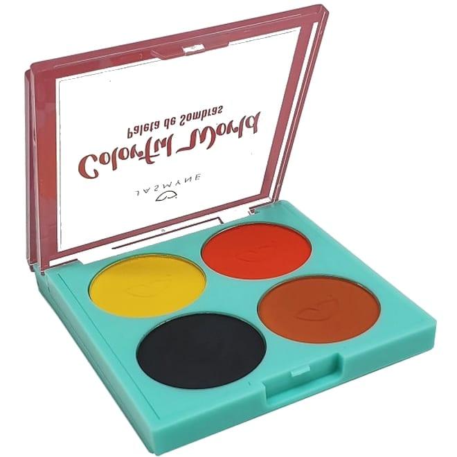 Paleta de Sombras Colorful World - Jasmyne Cor A (JS01051A)