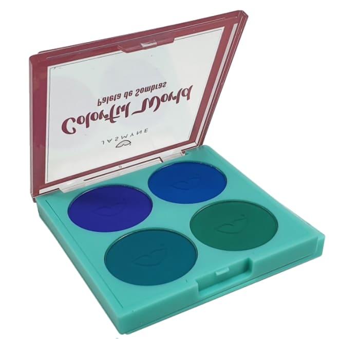 Paleta de Sombras Colorful World - Jasmyne Cor B (JS01051B)