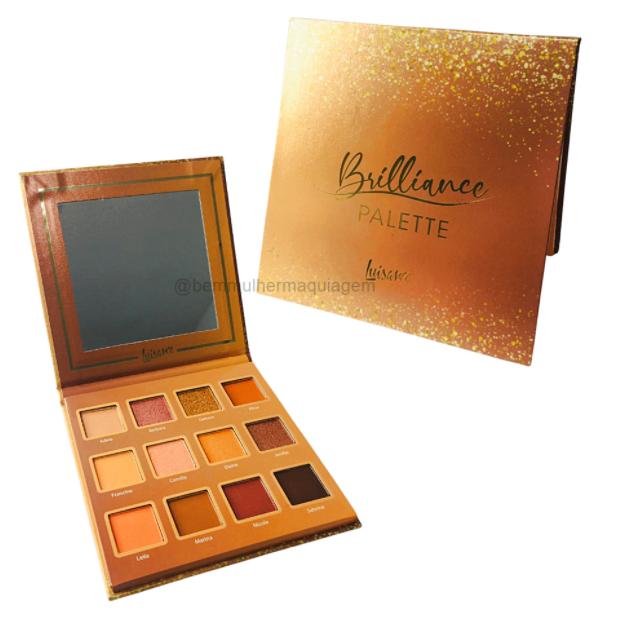 Paleta De Sombras Dourada Brilliance Pallete (L1098D) - Luisance