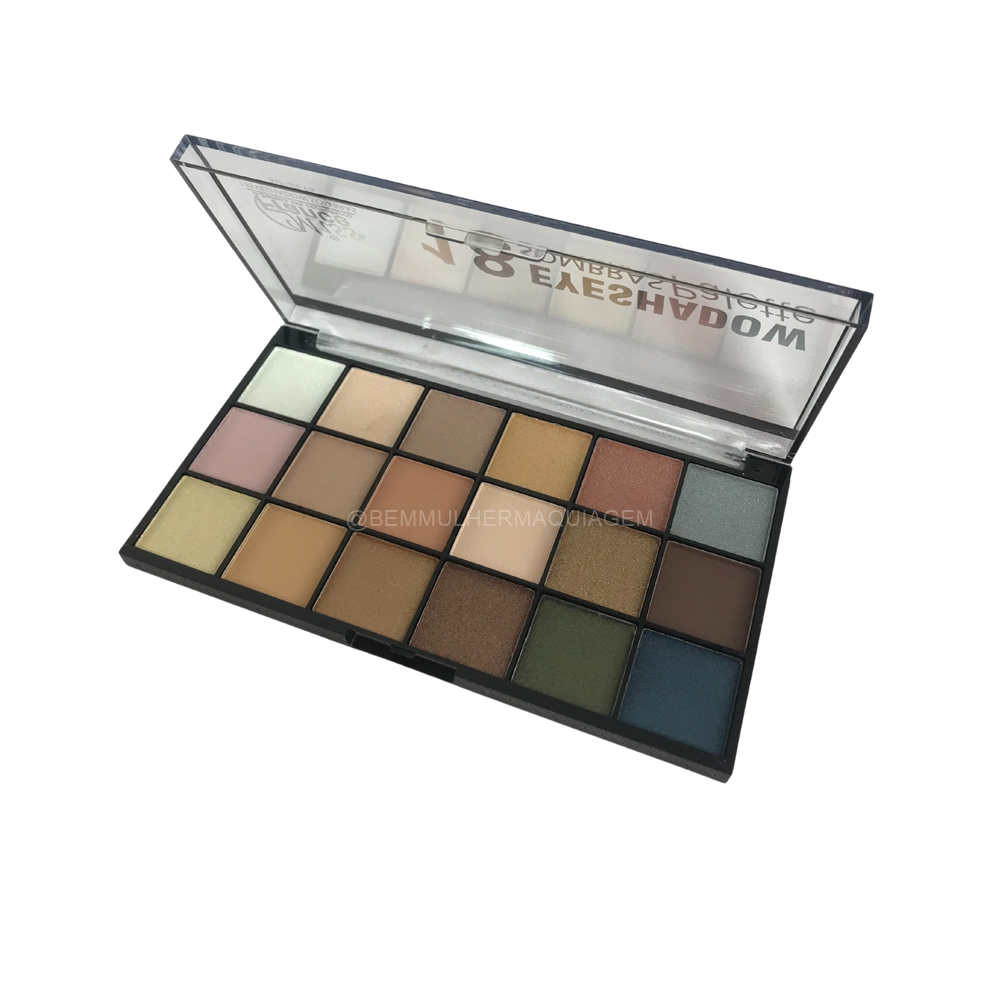 Paleta de Sombras Eyeshadow  18 Cores - Miss France Cor 1 (MF8615A)