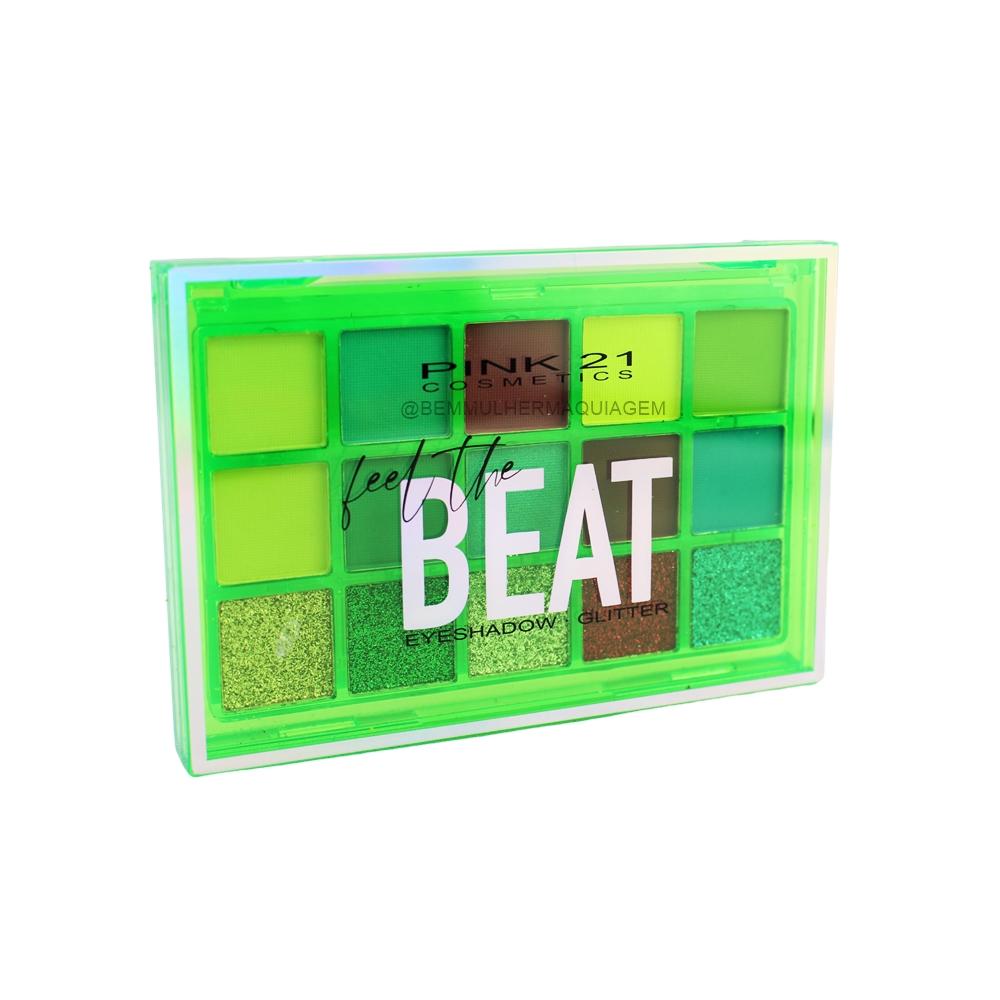 Paleta de Sombras Feed The Beat Cor 3 - Pink 21 (CS3068)