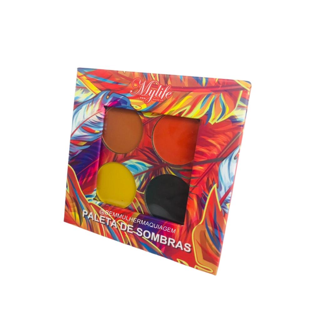 Paleta de Sombras Fiery Colors - My Life Cor 1 (MY8279A)