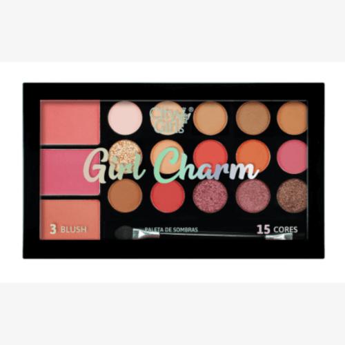 Paleta de Sombras Girl Charm - City Girls Cor B (CG249B)