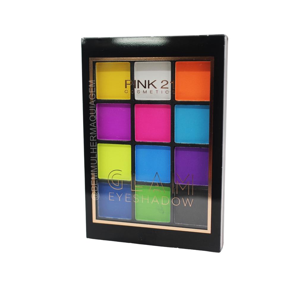 Paleta de Sombras Glam Eyeshadow - Pink 21 Cor 2 (CS2995)