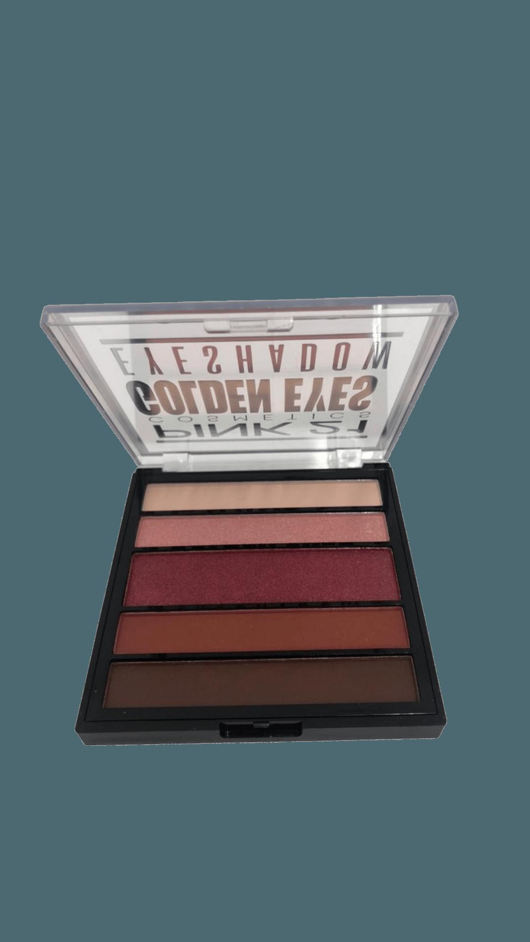 Paleta De Sombras Golden Eyes - Pink 21 Cor 2 (CS2761B)