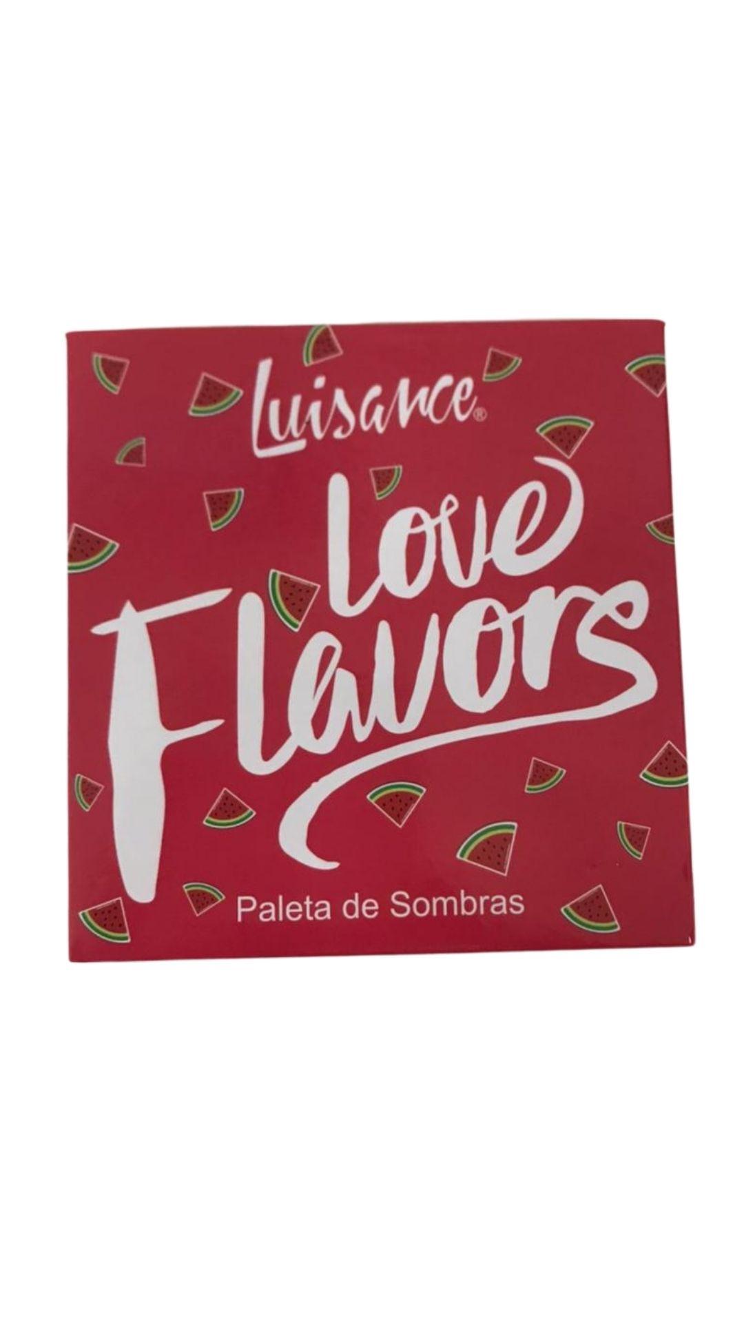 Paleta de Sombras Love Flavors Melancia Cor A - Luisance - L6075A