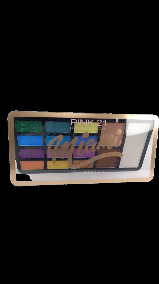 Paleta de Sombras Miami - Pink 21 Cor B (CS2438)