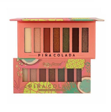 Paleta de Sombras Pina Colada Ruby Rose - HB1055