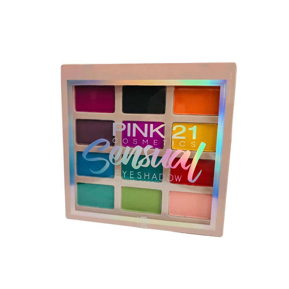 Paleta de Sombras Sensual Cor 1 - Pink 21 (CS2760)