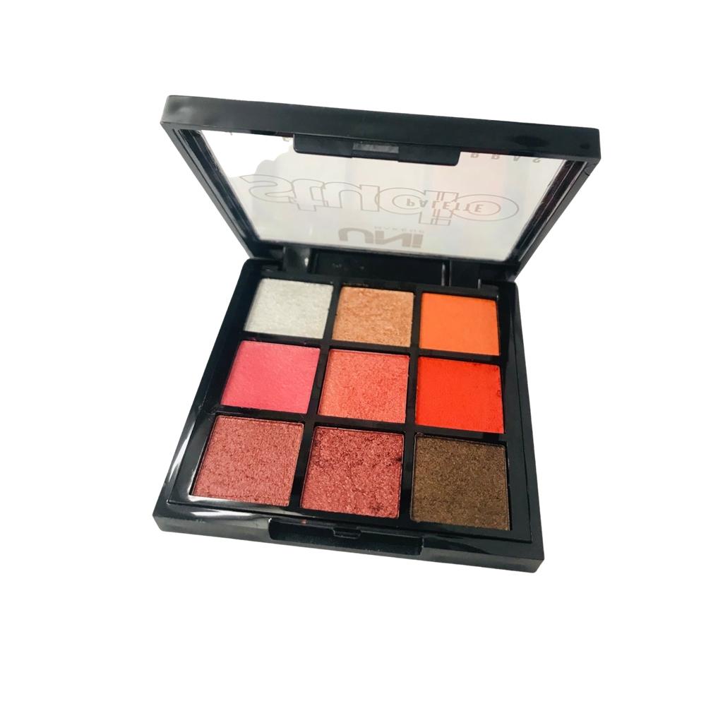 Paleta de Sombras Studio Palette - Uni Makeup - Cor A (UNSO237DSA)