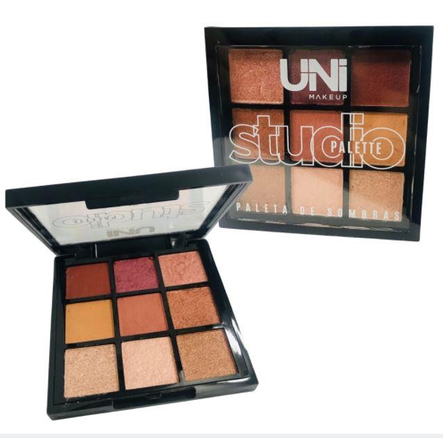Paleta de Sombras Studio Palette - Uni Makeup Cor B (UNSO237DSB)