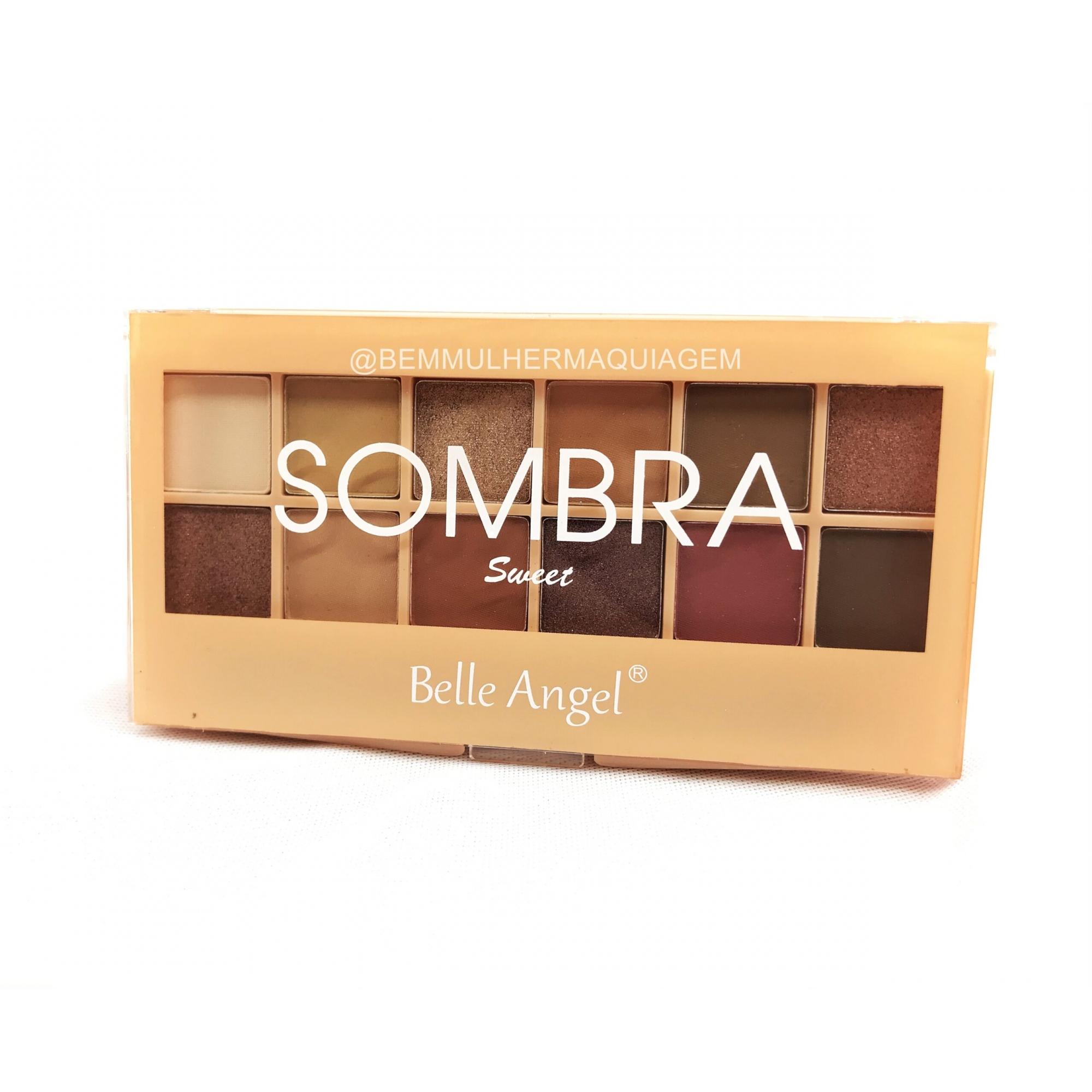 Paleta de Sombras Sweet - Belle Angel Cor A (B088A)
