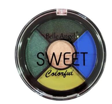 Paleta de Sombras Sweet Colorful - Belle Angel Cor D (B078D)