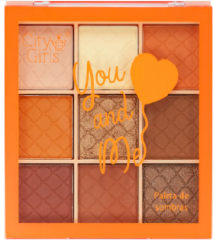 Paleta de Sombras You And Me - City Girls Cor C (CG240C)