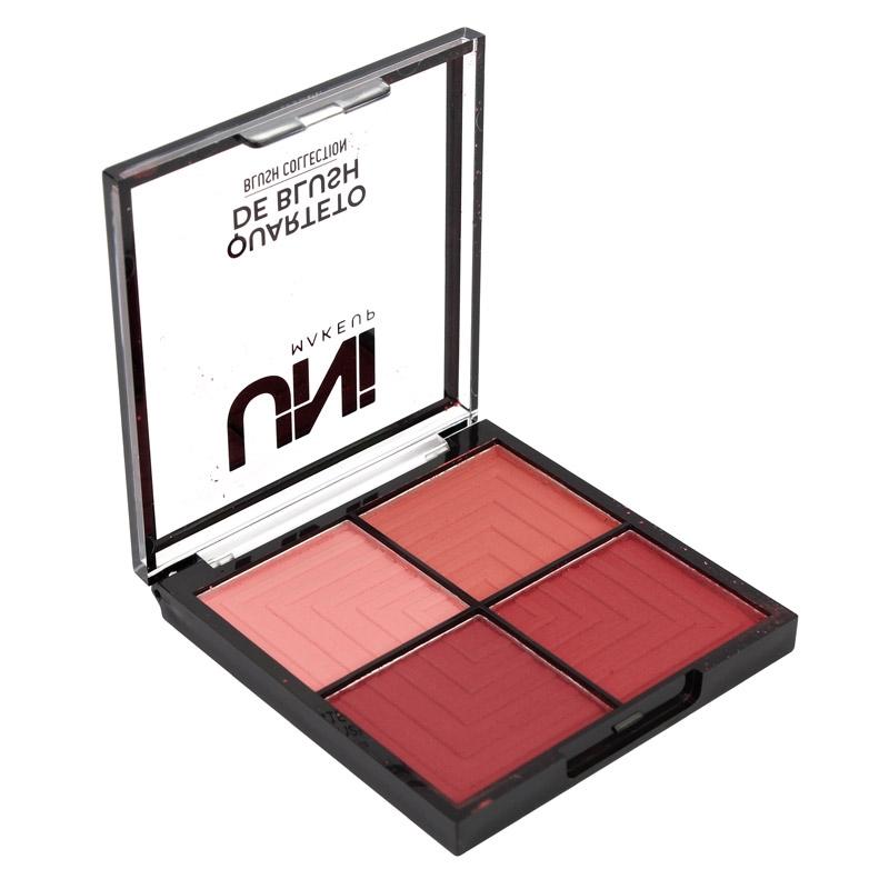 Paleta Quarteto de Blush Collection - Uni Makeup Cor B (UNBS103DS)