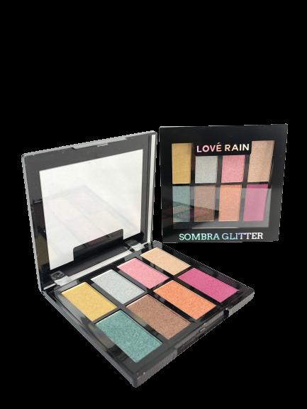 Paleta Sombra Glitter Matte - Love Rain Cor 2 (ES90513-4)