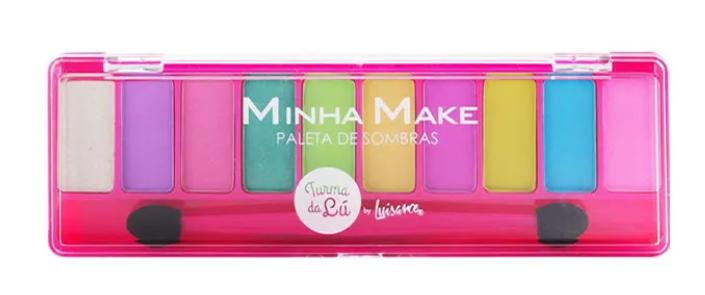 Paletas de Sombras Minha Make Cor A - Luisance (LT7103)