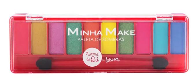 Paletas de Sombras Minha Make Cor B - Luisance (LT7103)