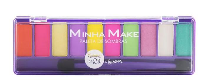 Paletas de Sombras Minha Make Cor C - Luisance (LT7103)