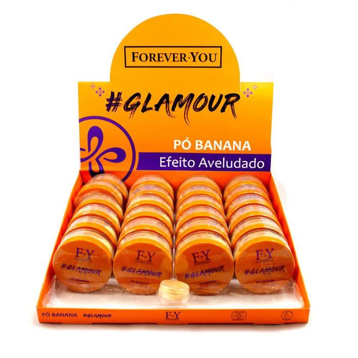Pó Banana Glamour - Forever You - Box com 24Un.