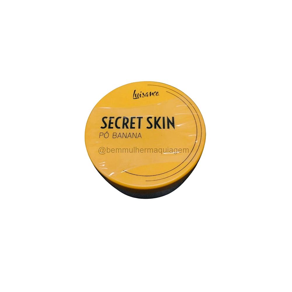 Pó Banana Secret Skin - Box C/ 12 Unid. (L5017) - Luisance