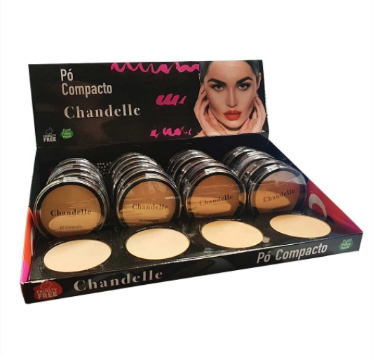 Pó Compacto - Chandelle Cor 01 ao 04