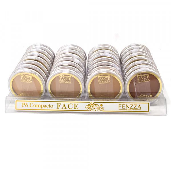 Pó Compacto Face - Fenzza - Box com 24un. (FZ34011)