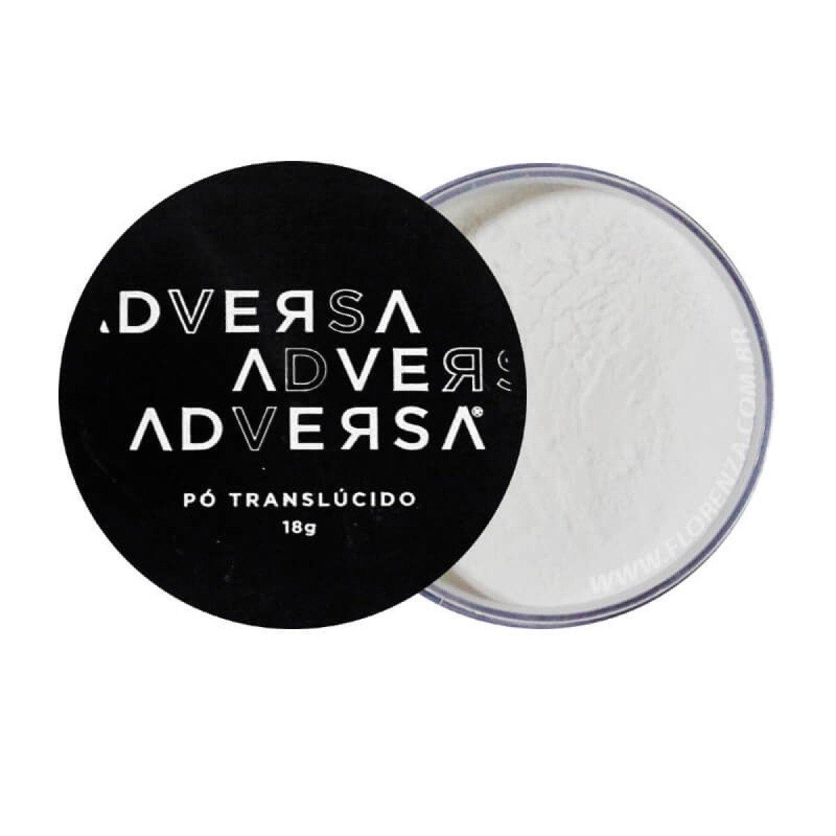 Pó Translúcido Vegano -  Adversa - Caixa com 6Un. (AD105)