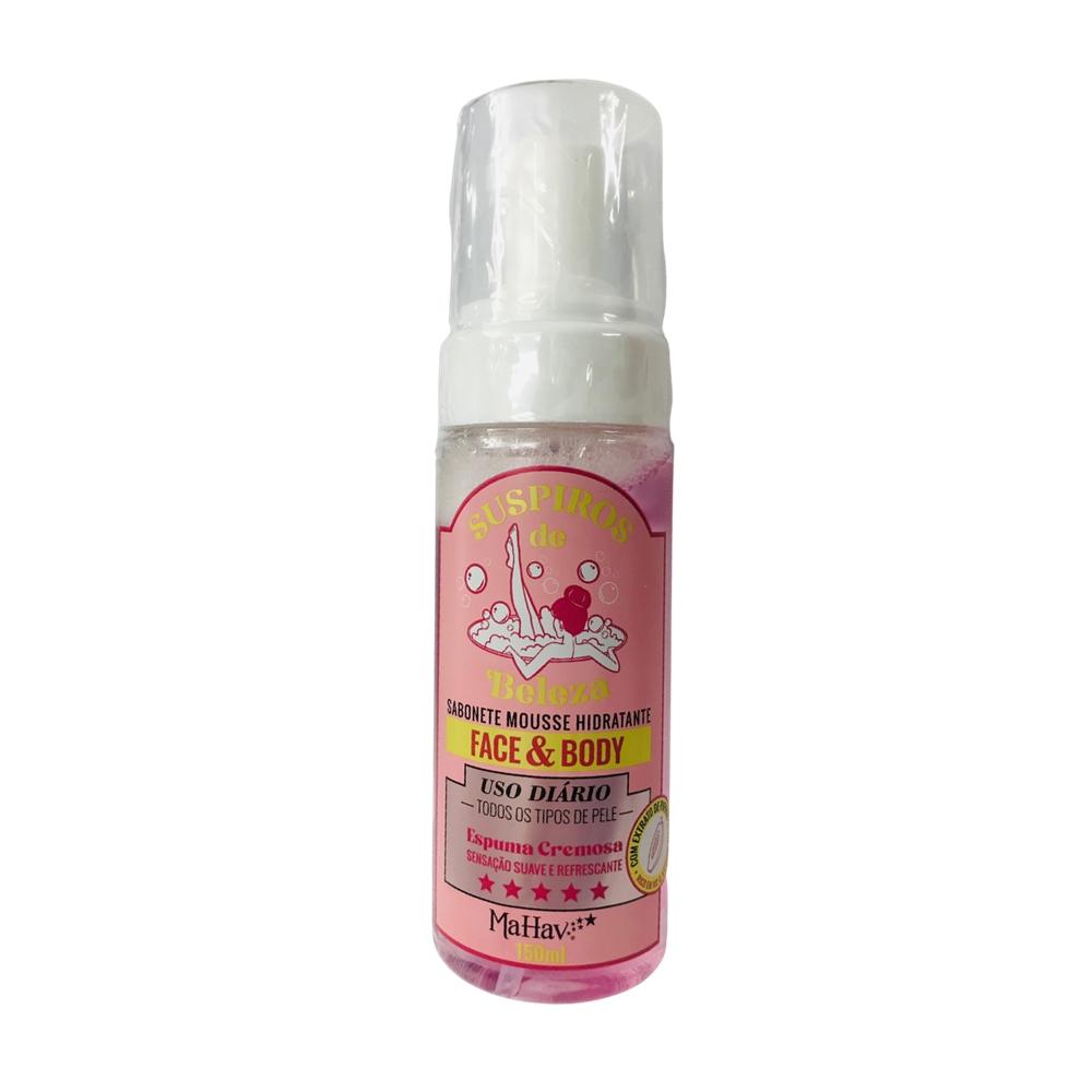 Sabonete Mousse Hidratante Face - Face Body - Mahav (SFAMV)
