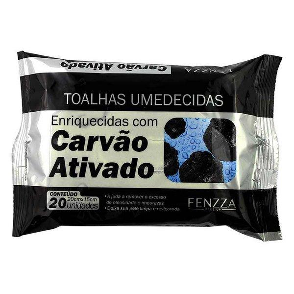 Toalha Umedecida Carvão Ativado Fenzza - (FZ51015)