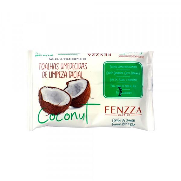 Toalha Umedecida Coconut - Fenzza (FZ51016)