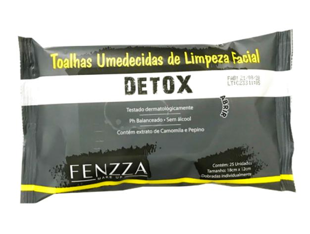 Toalhas Umedecidas Detox - Fenzza (FZ51013)