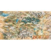 Playmat Descent Mapa Terrinoth